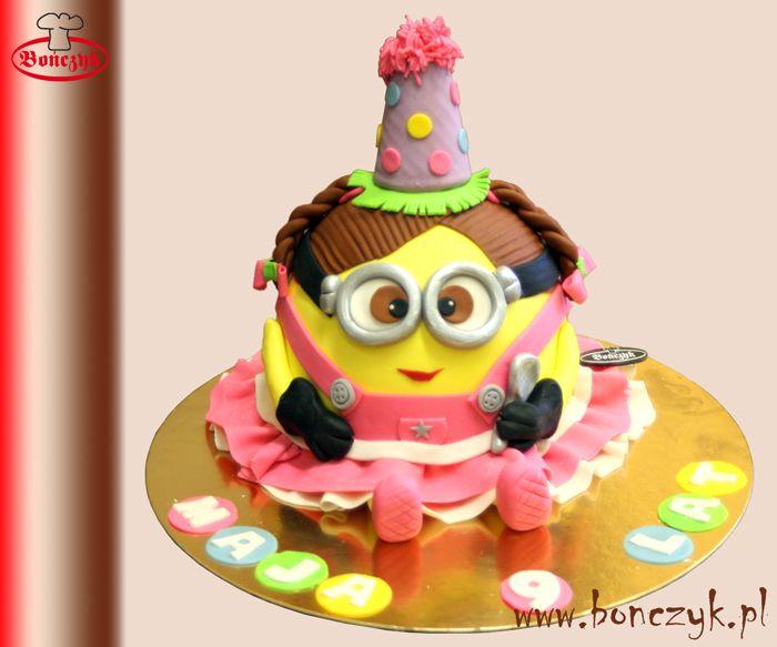 #minions; #minionki; #cake; #tort; #bonczyk; #dzieci; #dekoracyjny; www.bonczyk.pl