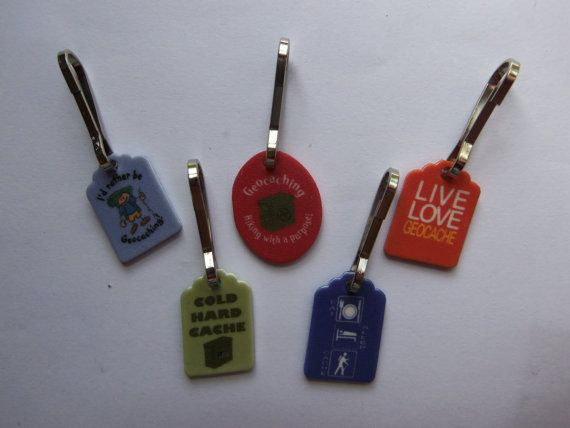 Swag Idea - Zipper Pulls...could make out of recycle shrinky dink
