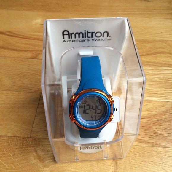 New Women's Blue Silicone Digital Watch Brand new. Retail $29.99. Price firm. Armitron Accessories Watches