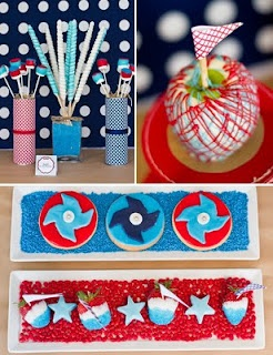 fourth of july pinwheel cookies
