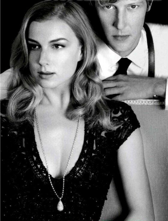 Emily Vancamp and Gabriel Mann