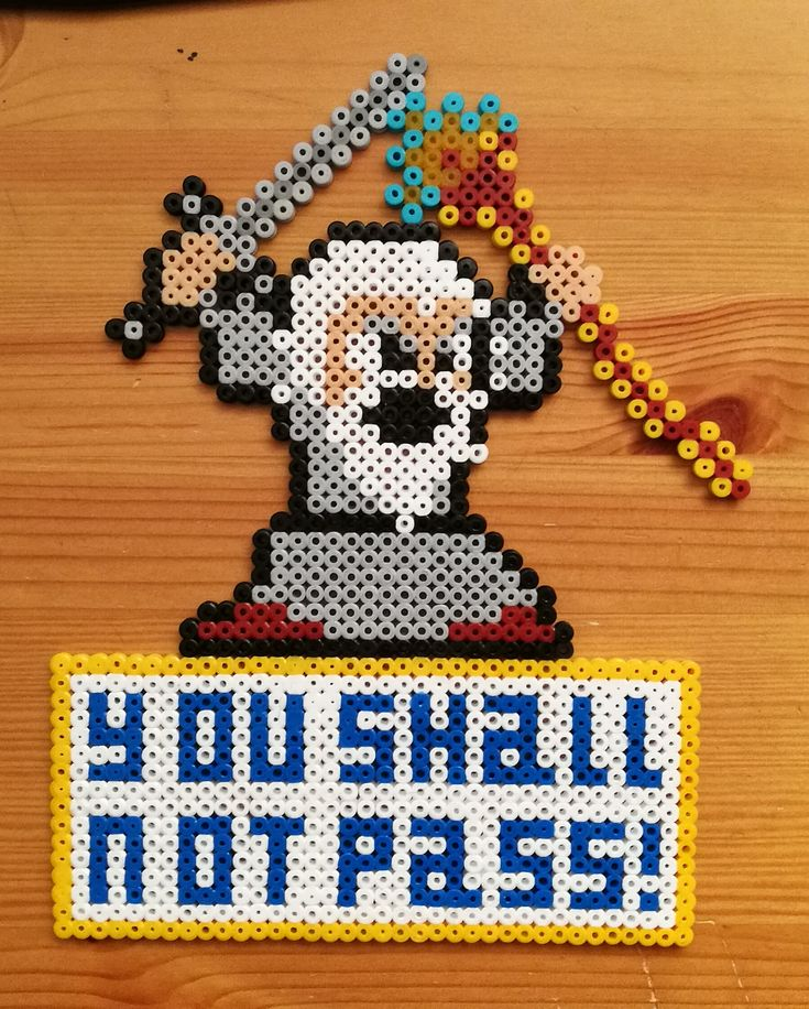 Gandalf the Grey -door sign with text 'you shall not pass!' from Lord of the Rings