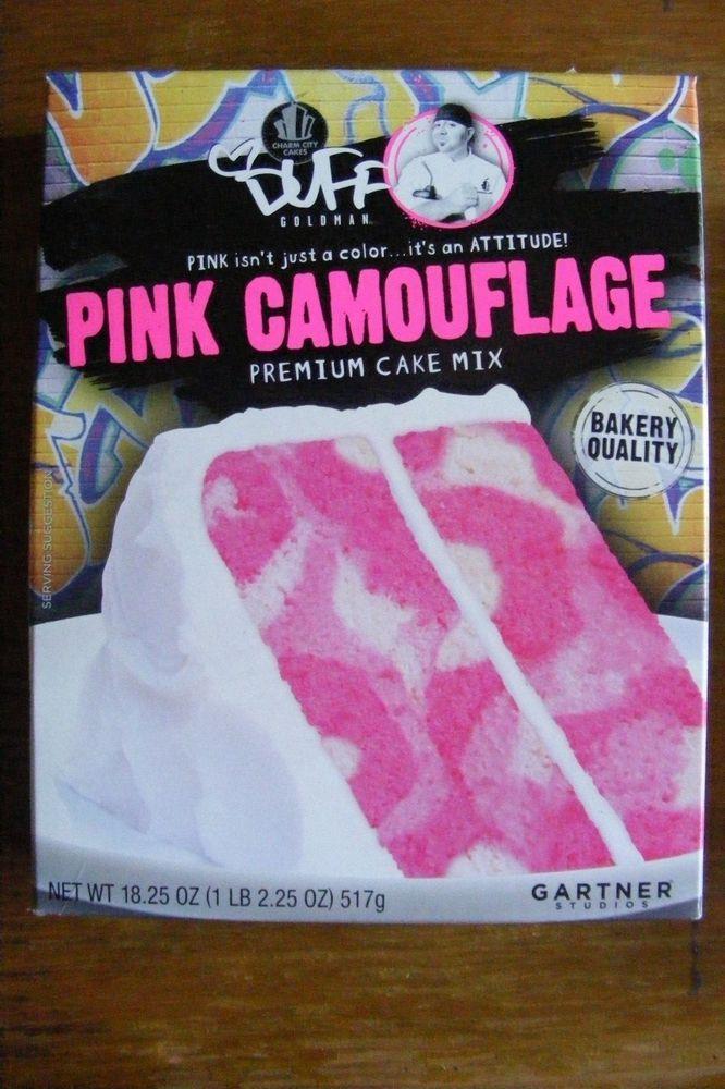 Pink Camo Cake Mix