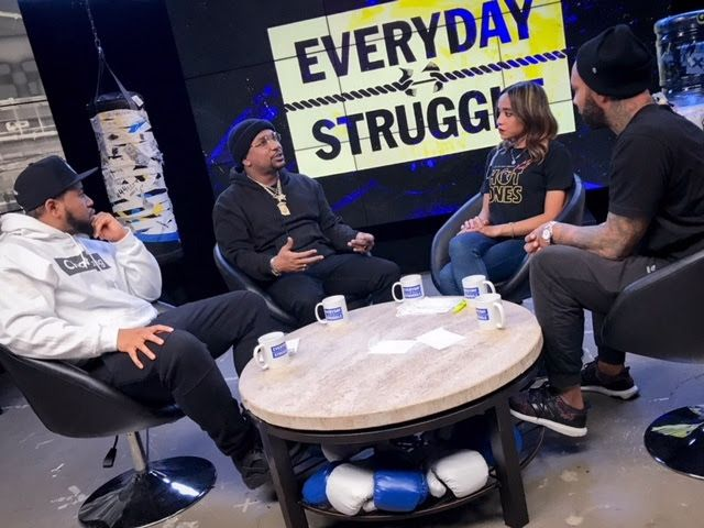 CyHi The Prynce Joins Joe Budden DJ Akademiks and Nadeska for Everyday Struggle!