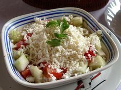 Şopska salata | Rumeli Lezzetleri | Balkan mutfağı | Rumeli mutfağı | Boşnak Mutfağı | Arnavut Mutfağı