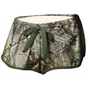 Have fun in the sun with these Realtree Xtra camo Cover Up Shorts! Keep your style extra cool and cute with these all summer long.  #camobikini #camoswimsuit