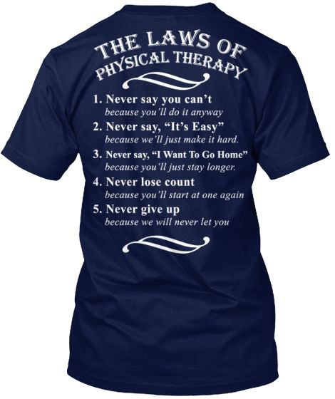 Laws of Physical Therapy
