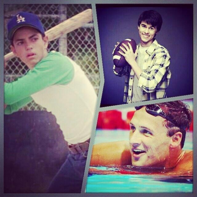 John Luke Robertson, Benjamin Franklin Rodriguez, Ryan Lochte!