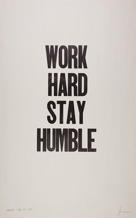 Work hard & stay humble #motivation #progress #growth #wordstoliveby