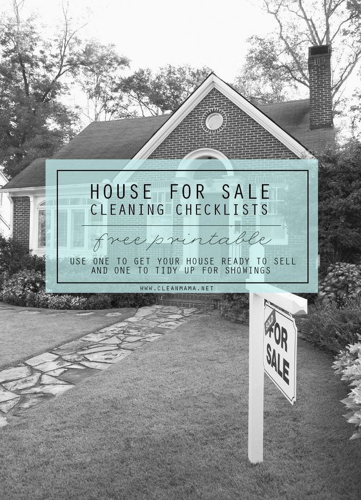 Getting ready to sell your home? These free printables are perfect for prepping your home for showings and selling!