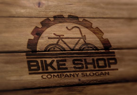 Check out Bike Shop Logo by Super Pig Shop on Creative Market