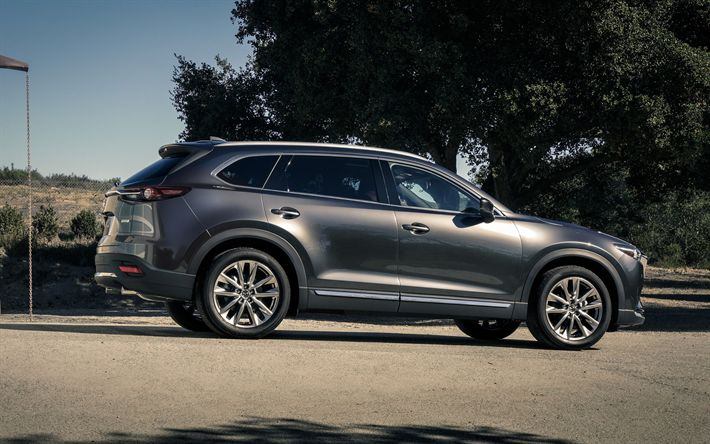 Download wallpapers Mazda CX-9S, 2018 cars, crossovers ...