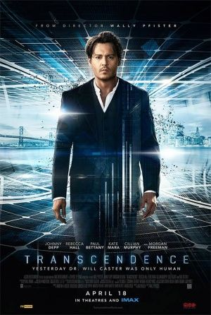 Transcendence-- is a 2014 dystopian science fiction film directed by cinematographer Wally Pfister in his directorial debut, and written by Jack Paglen. The English-language co-production stars Johnny Depp, Rebecca Hall, Paul Bettany, Kate Mara, Cillian Murphy, Cole Hauser and Morgan Freeman. Pfister's usual collaborator, Christopher Nolan, served as executive producer on the project.