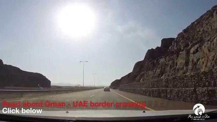 Sultanate of Oman. Road to Al Buraimi