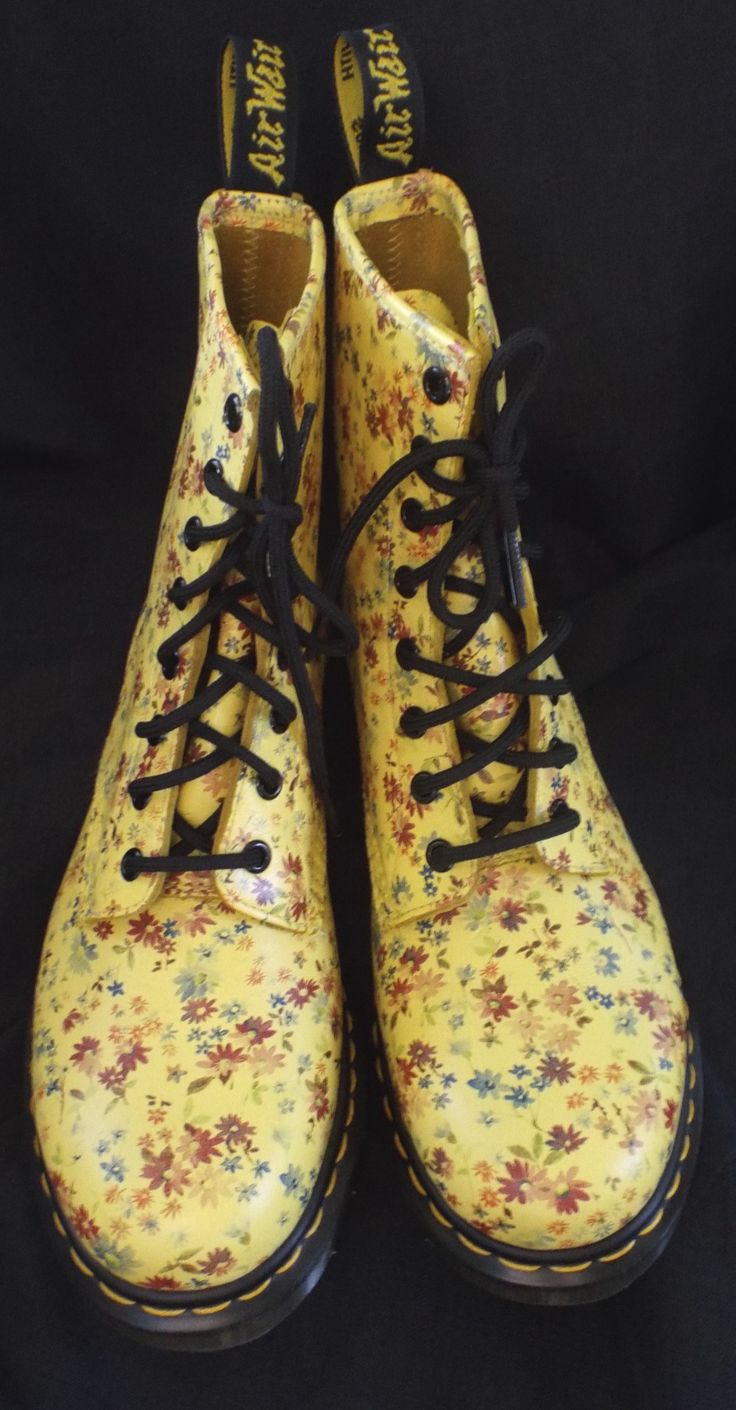 1000 Images About Dr Martens Yellow On Pinterest
