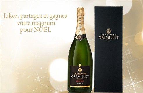 Gagnez un magnum de champagne Gremillet