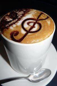 Music latte anyone?