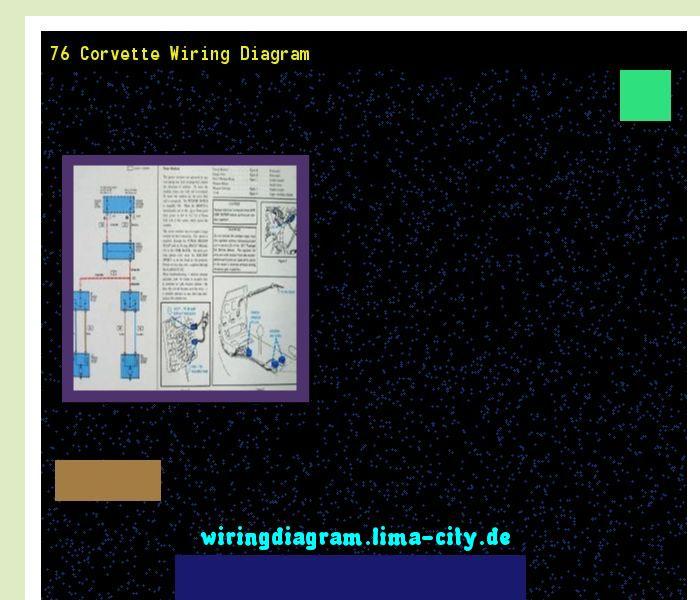 76 Corvette Wiring Diagram  Wiring Diagram 185758