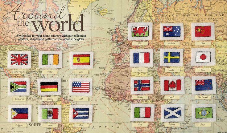 Around the World - from CrossStitcher Mag 255