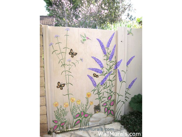 Outside Wall Murals   Outdoor Mural Examples | Murals And Stencils |  Pinterest | Wall Murals, Garden Gate And Patio Wall Part 3