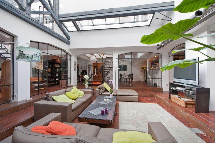 Un loft dans un ancien atelier de photographe - PLANETE DECO a homes world
