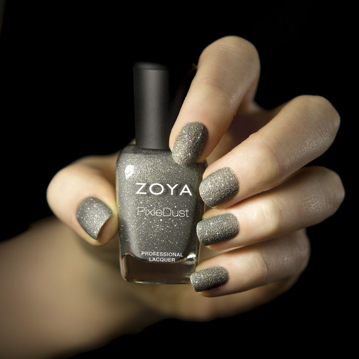 Check Out Zoya's New Invention: Matte Glitter Nail Polish (So Cool!): Girls in the Beauty Department - Zoya London