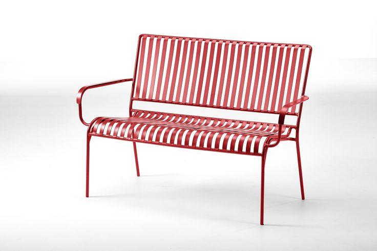 Køb Weston bænk - rød på Bilka.dk | Se også hele udvalget af Havebænke