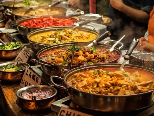 India - Colori della cucina indiana - Secondo l'indagine CNN è l'ottavo Paese in cui si mangia meglio al mondo.