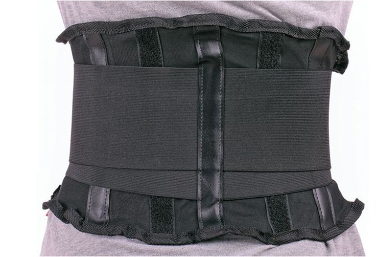 "I have degenerative disc disease and this is a life saver. I have used back braces before but they pale in comparison. Does not ""ride up"" or fold over as the flimsier ones do. Has a removable lumbar support. Well made and certainly worth the price and a must have if you need to bend over and hold that position for any length of time with out pain."