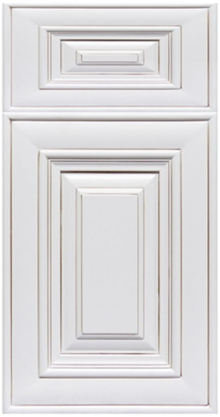 Antique white simple antique white kitchen cabinets for Pictures of white glazed kitchen cabinets