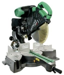 The Hitachi C12RSH 15 Amp 12-Inch Sliding Compound Miter Saw with Laser provides smooth, accurate miters and crosscuts in a variety of workpieces, including wood, plywood, crown molding, decorative panels, soft fiberboard, hard board, and aluminum sashes. A top-of-the-line tool for trim carpenters, framers, and woodworkers who demand precision and reliability, the C12RSH features a compact slide system, Hitachi's exclusive Laser Marker System, and more. The 12-inch TCT saw blade