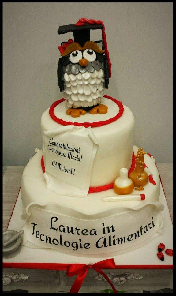 Torta laurea torte decorate pinterest for Laurea in design