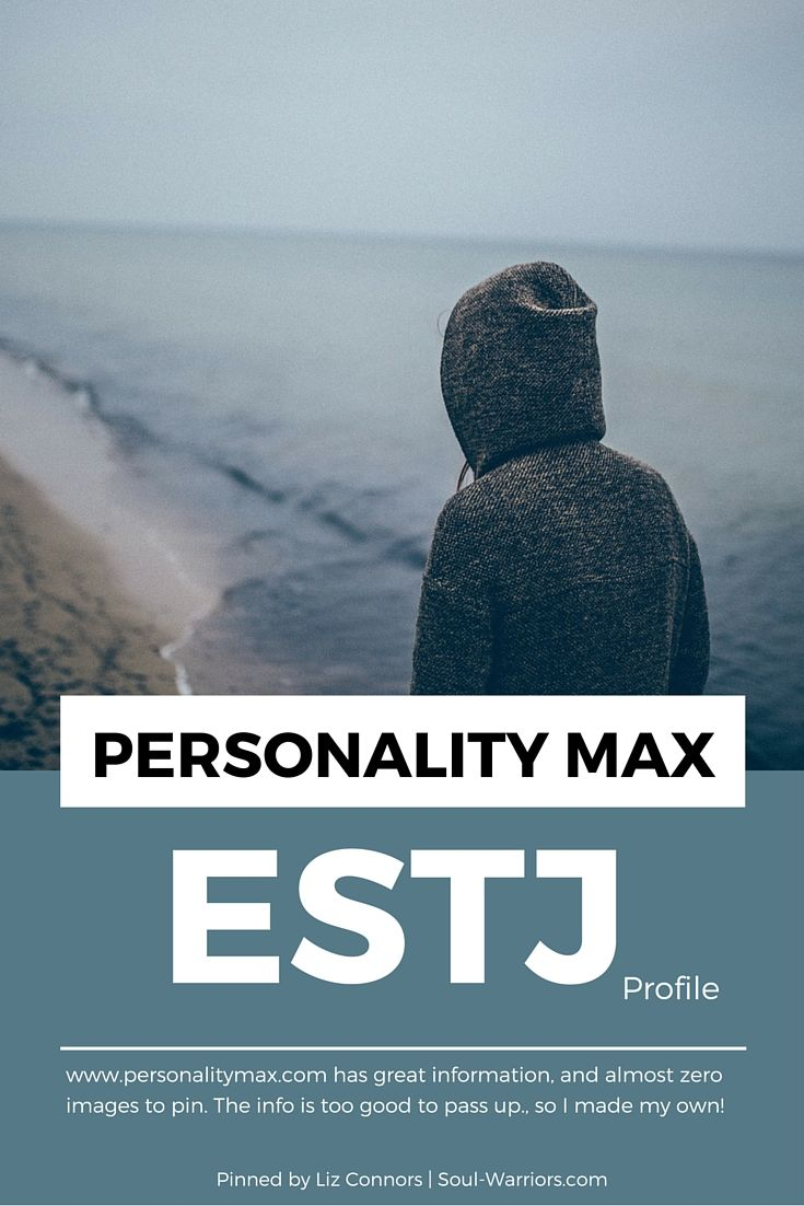 estj personality Find and save ideas about estj on pinterest | see more ideas about esfp myers briggs, personality types and infj 16 personalities.