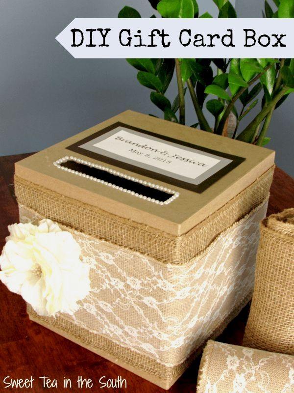 Wedding Card Box Weddingideas Wedding Diy In 2019 Wedding Gift