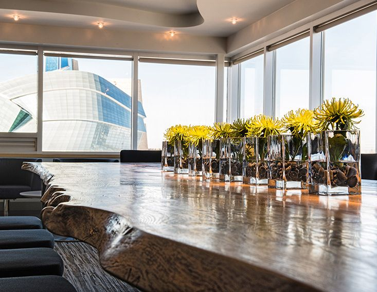 Project Waterfront Renovation Suite Winnipeg MB Canada PRODUCTS Shaw Contract Group Natural Selection DESIGN FIRM Number Ten Architectural Gro