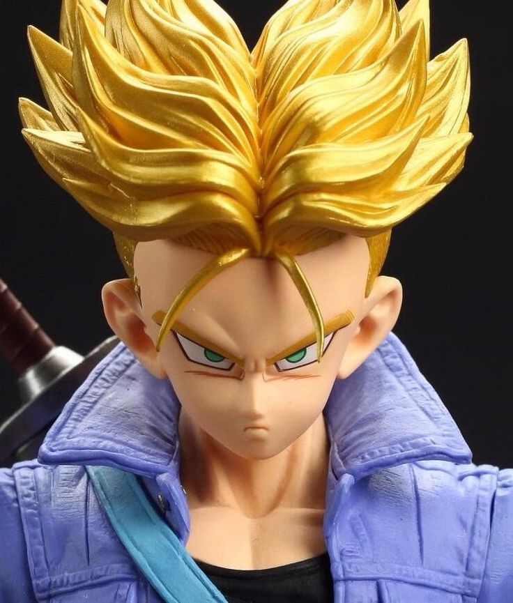 Figura Dragon Ball Z Trunks Super Saiyan 26 Cm Gigante