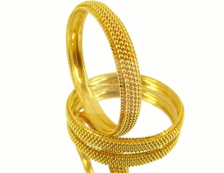 Bangles - Gold Bangles (BG00004353) at USD 2,400.53 And EURO 1,740.67