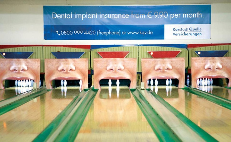 guerrilla marketing : implants dentaires #dentist