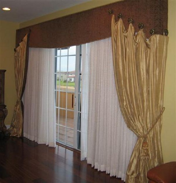 Curtain Ideas For Door Entrance | Door Designs Plans · Schiebetür  VorhängeSchiebetürenTür ...