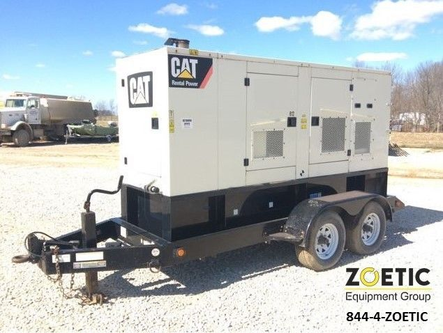 2009 Caterpillar XQ175-2 196KVA/157KW Portable Diesel Generator on trailer