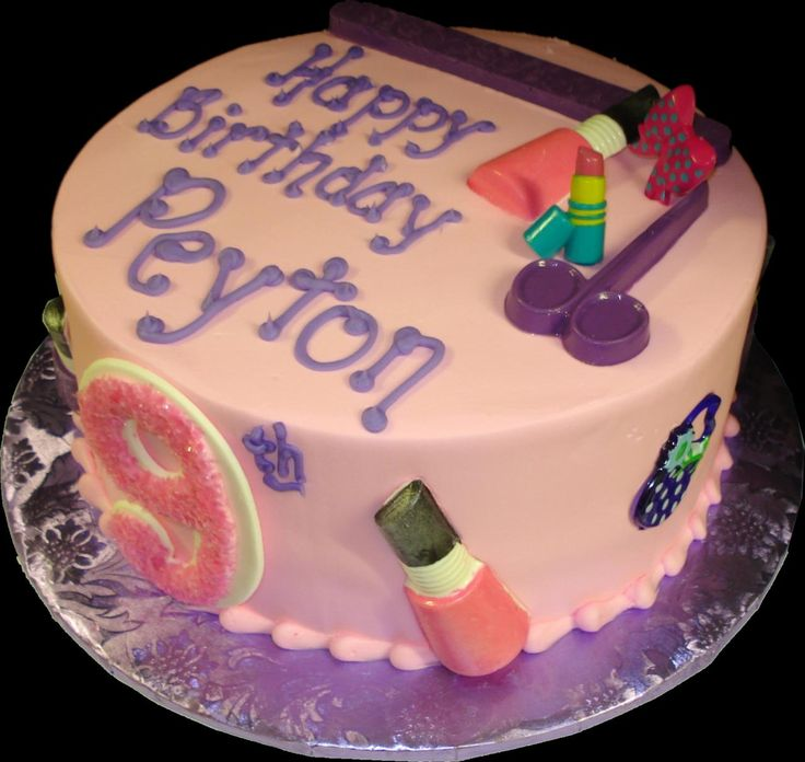 Fingernail Polish Birthday Cake: 77 Best 9th Birthday Cakes And Party Suggestions Images On