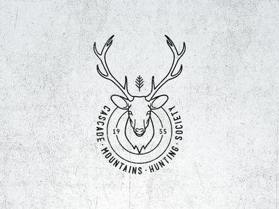 Vintage Fantasy Hunting Logo
