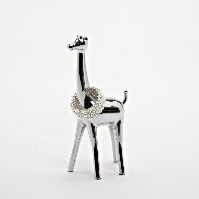Keep your jewelry organized and easy to see with the Umbra Zoola Giraffe Ring Holder.