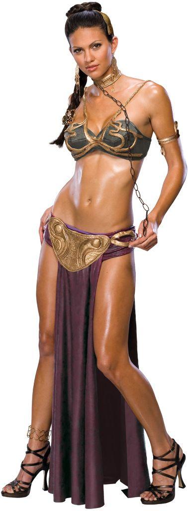 DollarDays.com: Women's Costume: Princess Leia Slave   Large