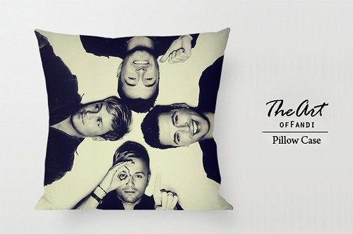 """WestLife - Custom Square 18""""x18"""" One Side Pillow Case"""