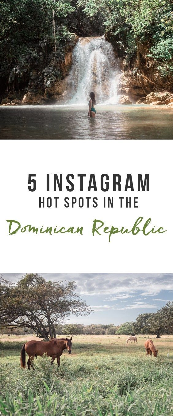 5 Instagram Hot Spots in the Dominican Republic | Here & Air | Photo Spots | North Coast | El Limon Waterfalls | Sublime Samana Hotel | Sosua Beach | Kite Beach | Las Terrenas | Cabarete | Sea Horse Ranch Hotel