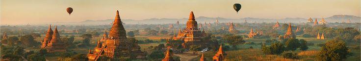 Antigua ciudad Bagan - Birmania
