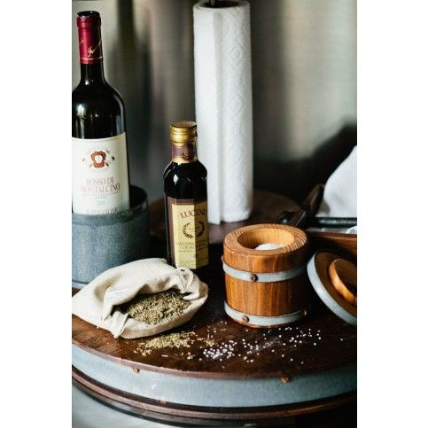 THE WELL APPOINTED HOUSE - Luxuries for the Home - THE WELL APPOINTED HOME Bordeaux Wine Barrel Lazy Susan