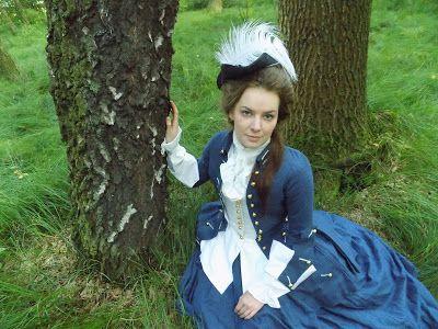 Ms.Nelly świat kostiumów :): Osiemnastowieczna amazonka/ In celebration of my master's degree - 1760s riding habit