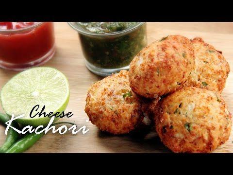 Cheese Kachori Recipe|Stuffed Cheese Kachori Recipe |Indian Snack Recipe - Foods And Flavors